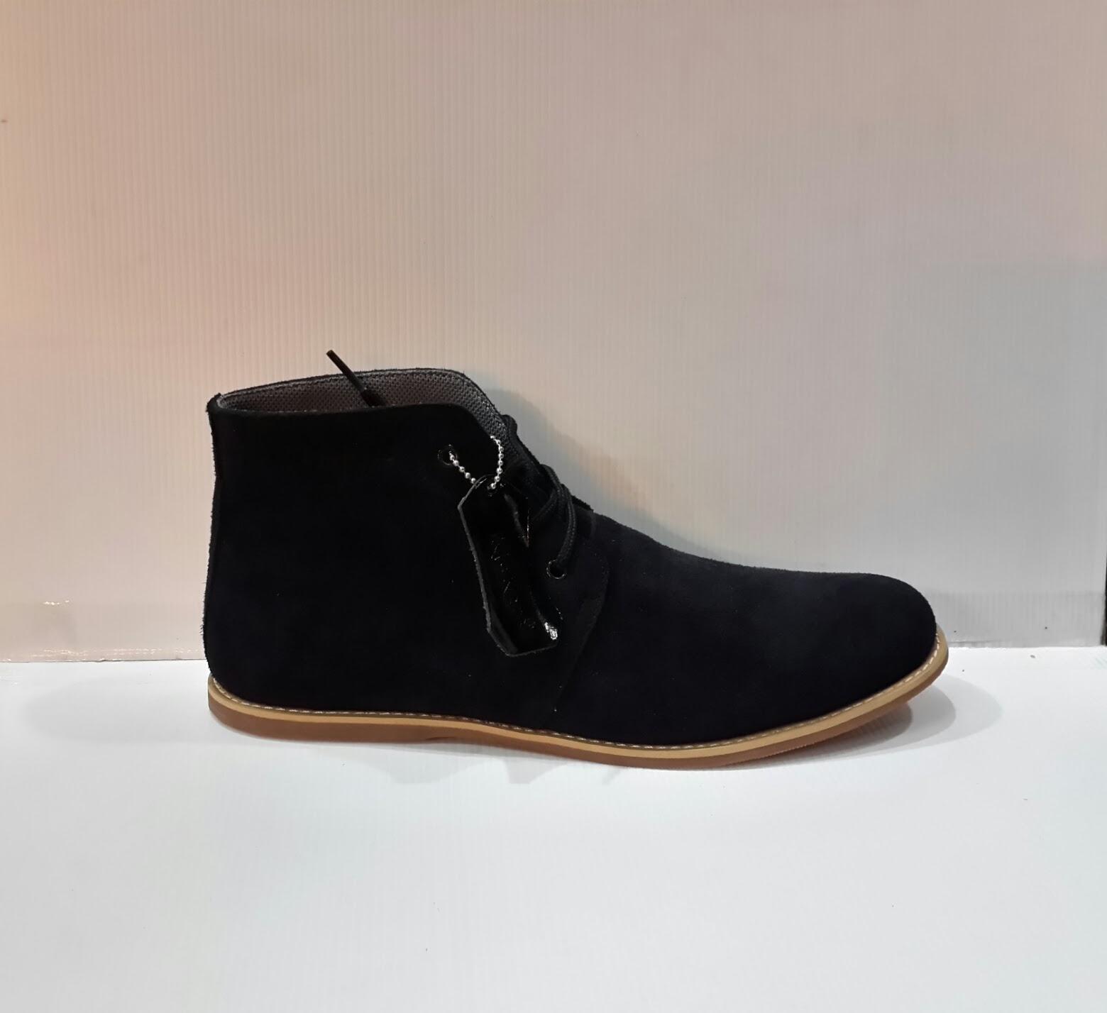 sepatu kickers murah, jual sepatu KicKers Boots Suede High, sepatu gaya, sepatu santai