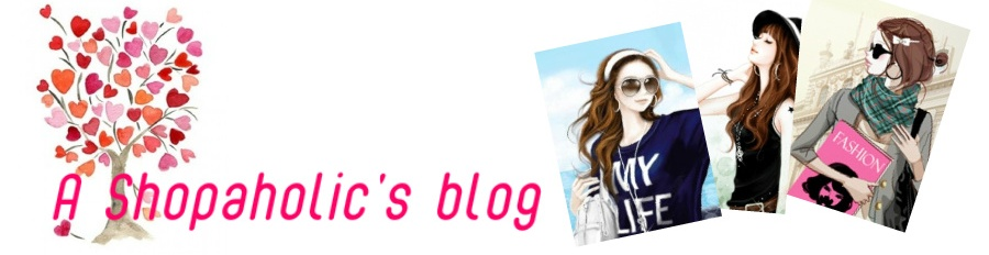 A Shopaholic's Blog