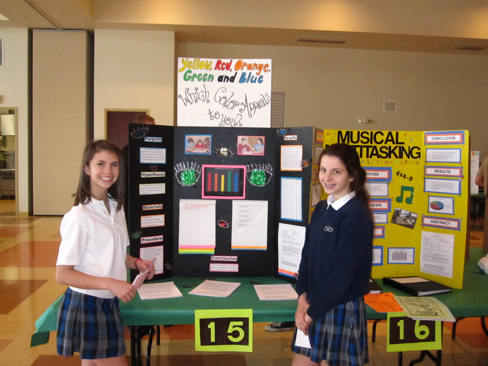 8th grade science please work on science fair