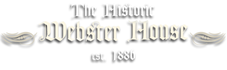The Historic Webster House Blog