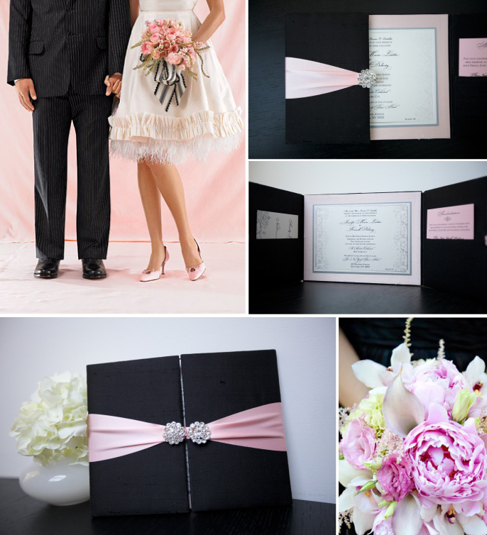 Pink and Black Wedding Inspiration Inspired by Lela New York Wedding