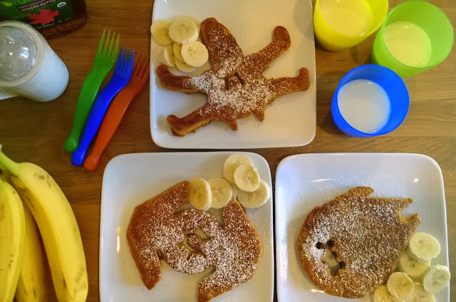Star Wars pumpkin pancakes