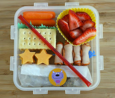 colorful bento honey stick