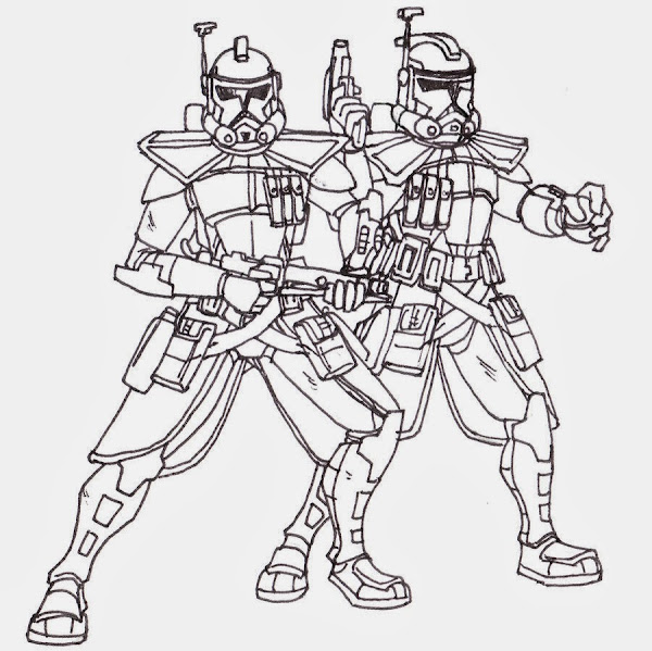 Lego Star Wars Boba Fett Coloring Page