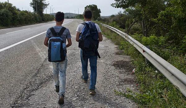 Η Μεγάλη Φυγή των Μεταναστών στα Σύνορα Ελλάδας