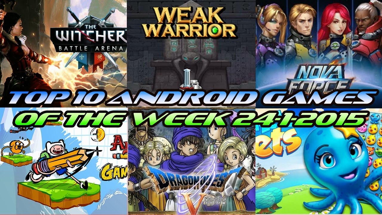 TOP 10 BEST NEW ANDROID GAMES OF THE WEEK - 24th January 2015
