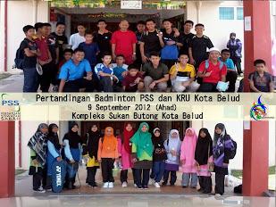 Pertandingan Badminton PSS & KRU Kota Belud