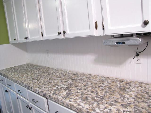 Rustoleum Countertop Paint Prep : The Modest Homestead: Kitchen Update: Faux Granite Countertops