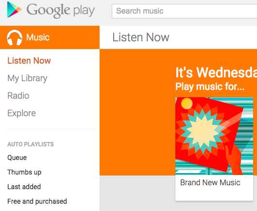 how to delete google play music from android