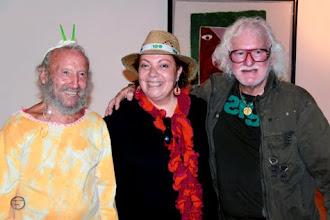 Juan Ripollés, Lola Mesado y Matt Lamb (fallecido)