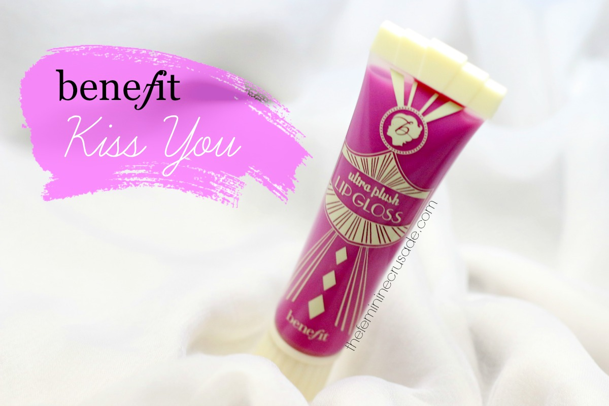 Benefit Ultra Plush Lip Gloss in 'Kiss You' - Review & Swatches