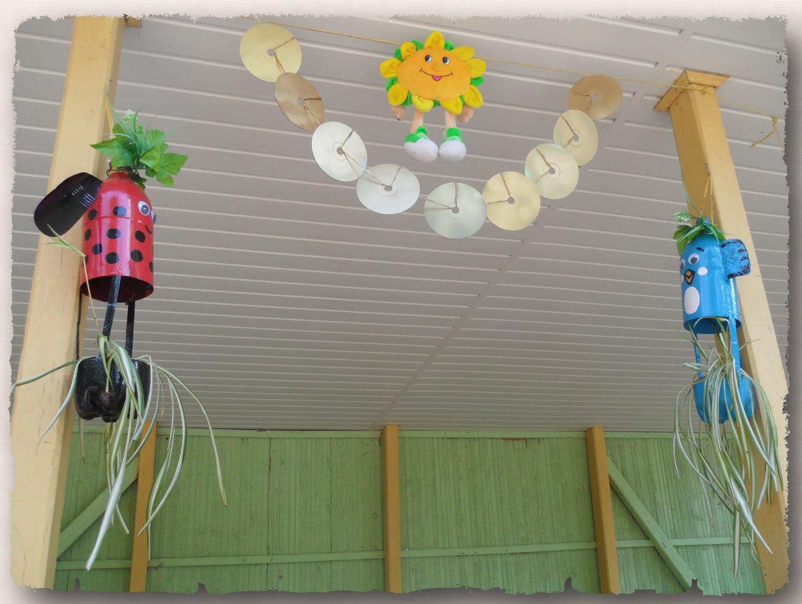 Украшения для веранды детского сада своими руками