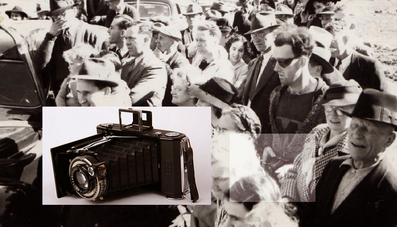 фотографии прошлого с предметами из будущего