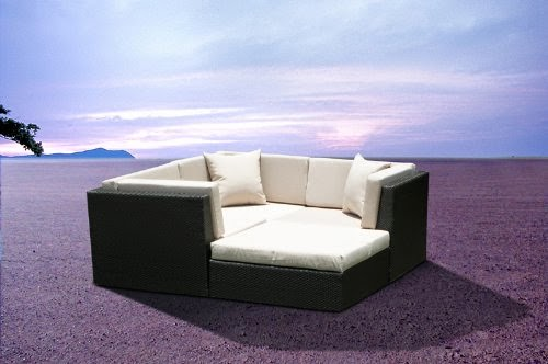 Discount 56% for Outdoor Patio Wicker Furniture Sofa Sectional 4pc Resin Couc