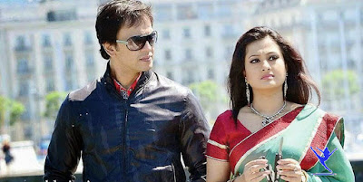 Bangladeshi Film Actress Purnima with Talented Model Adil Hossain Nobel