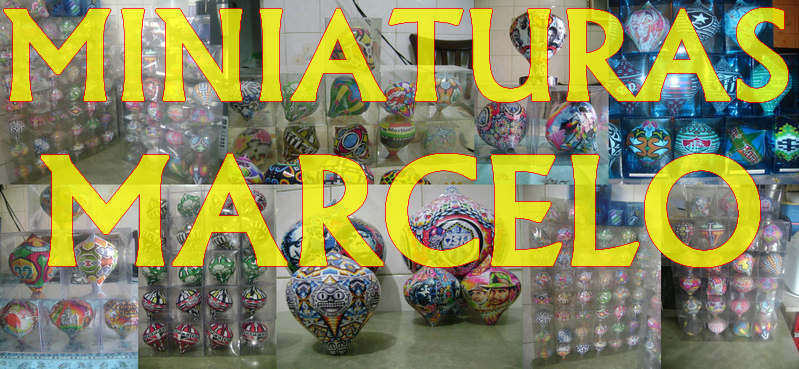 Miniaturas de Balões