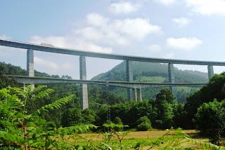 Cudillero, viaducto de la Concha de Artedo