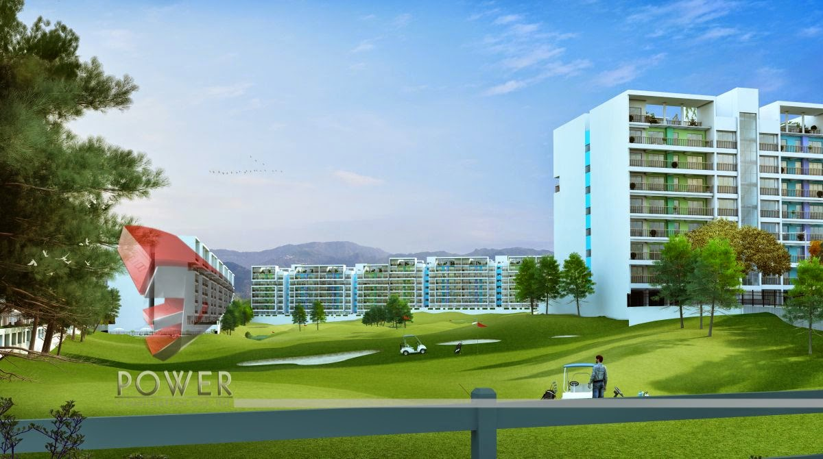 3D Architectural Rendering Golf Club In Township