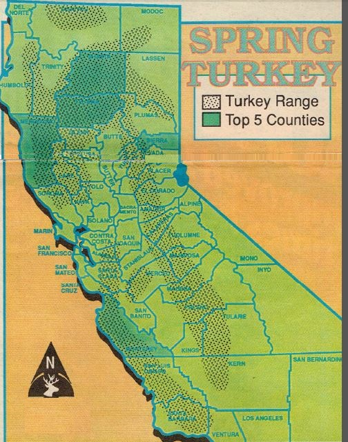 STATEWIDE TURKEY MAPS