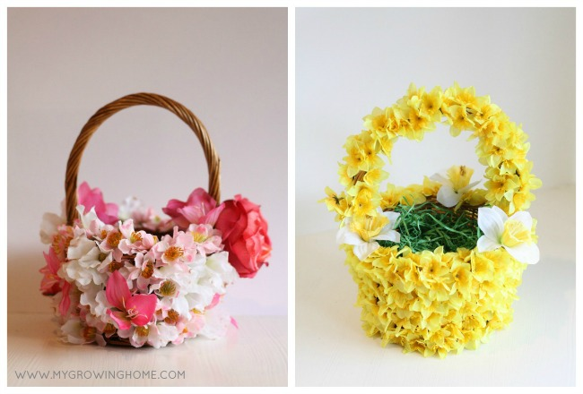 Blooming Easter Baskets | My Growing Home