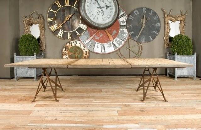 Estilo rustico tablones para mesas rusticas for Mesas antiguas rusticas