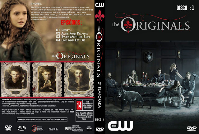 Capa The Originals 2ª Temporada