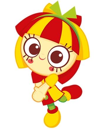 Desenho da Emília Sítio do Picapau Amarelo colorido