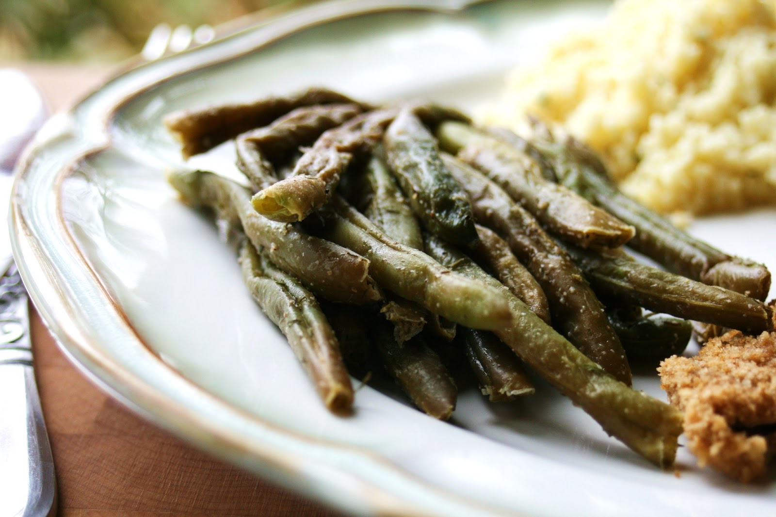 how to cook green beans in microwave
