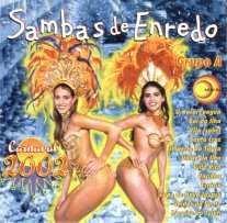 foto da capa do cd sambas de enredo 2002 grupo de acesso