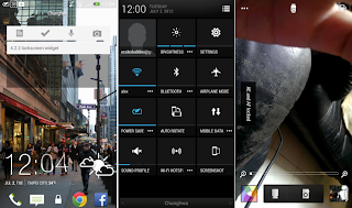 HTC One Android 4.2.2 Snaps
