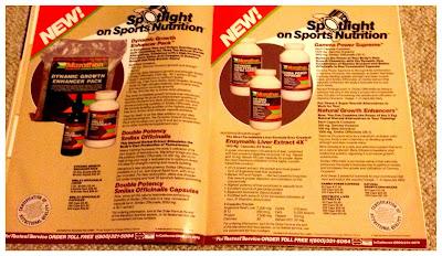 Marathon supplement advertisement