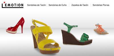 Venta de calzado de marca L'Emotion