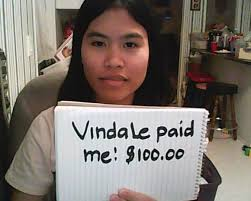 VINDALE SURVEY CASH