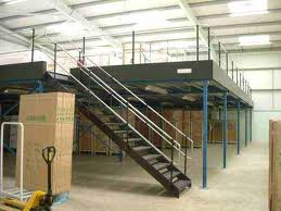 Industrial mezzanine floors , Industrial mezzanine floors in bakeries