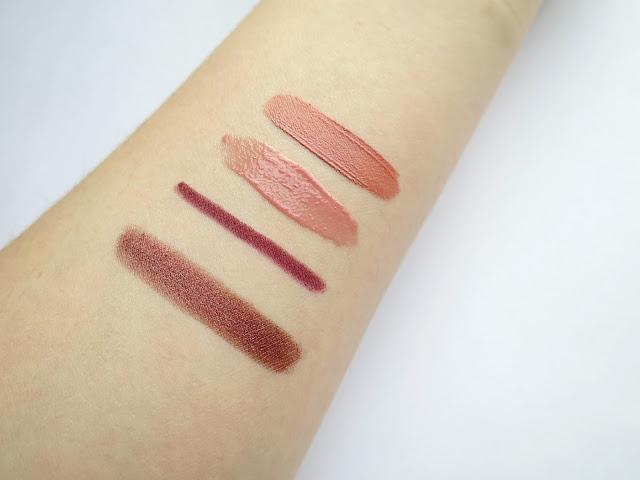 Nyx cosmetics makeup lips eyes haul swatch