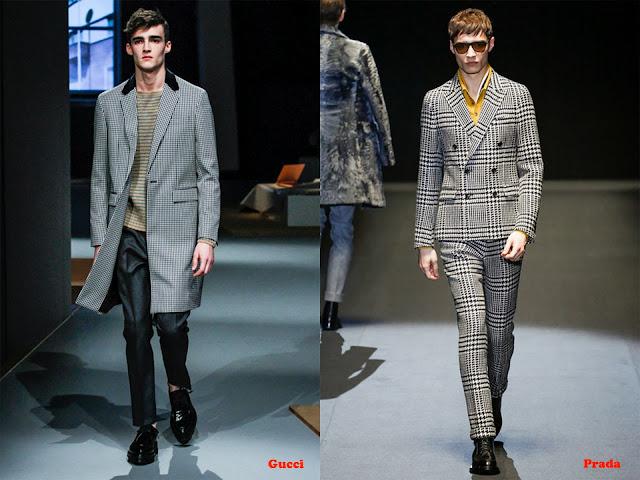 Tendencia otoño_invierno 2013-14 tejido pata de gallo: Gucci y Prada