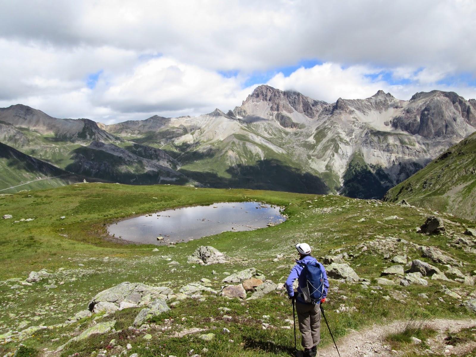 En route to Col de Laurichard, Ecrins National Park, France, Alps
