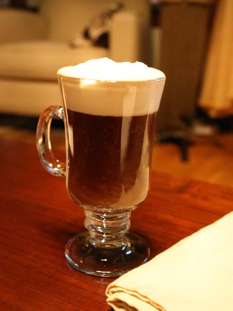 irish coffee is the perfect thing to drink during cold rainy days it ...