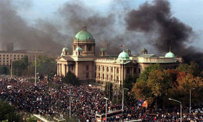 Скупштина у пламену, 5. октобар 2000.