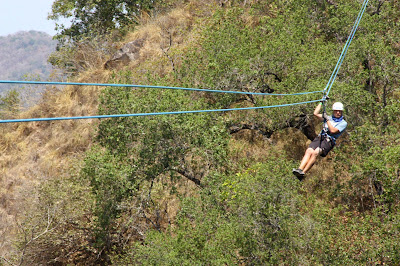 Bucket list: Ziplining!  Puerto Vallarta, Mexico www.thebrighterwriter.blogspot.com