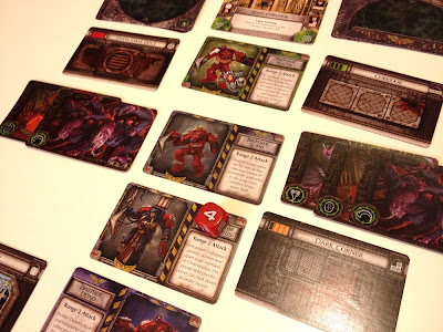 Space Hulk Death Angel card game