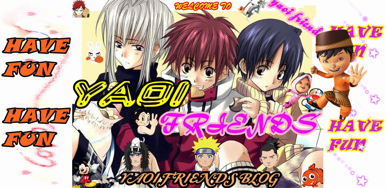 Yaoi Friends Blog!!