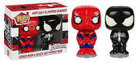 POP! HOME SALT AND PEPPER SHAKERS SPIDERMAN/VENOM