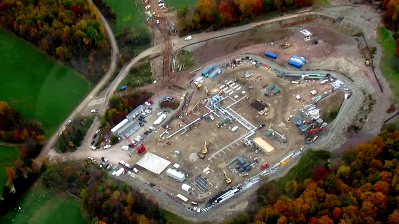 the illegal and unpermitted 53 acre williams central station in brooklyn township pa is the start of the constitution pipeline currently in prefile with