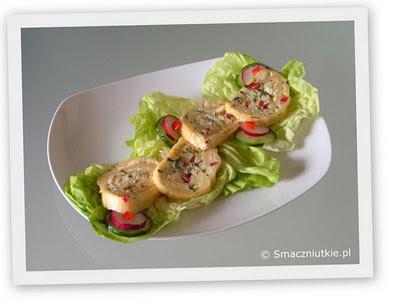 Rolada serowa - smaczna przystawka na wszystkie okacje