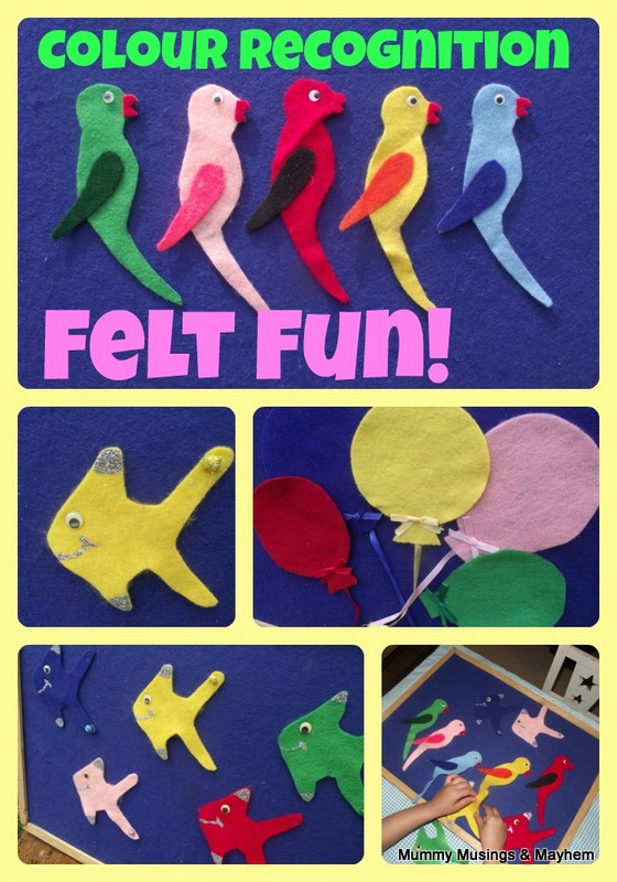 Toddler Fun with Felt Games! - The Empowered Educator