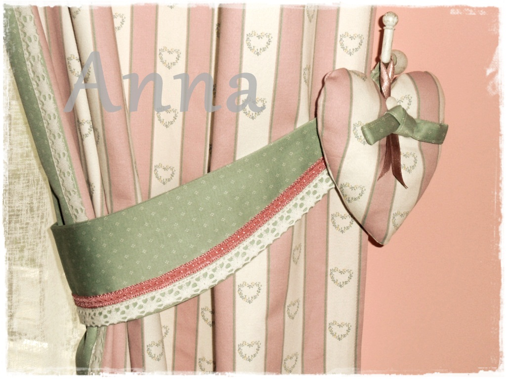 Lecosemeravigliose shabby e country chic passions: tende romantiche