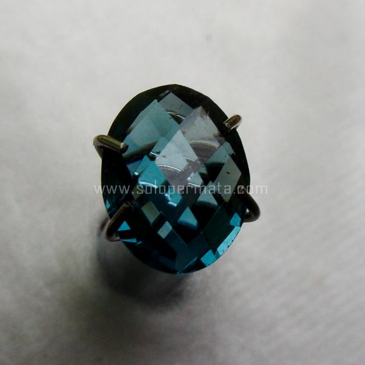 Batu Permata London Blue Topaz - SP1054