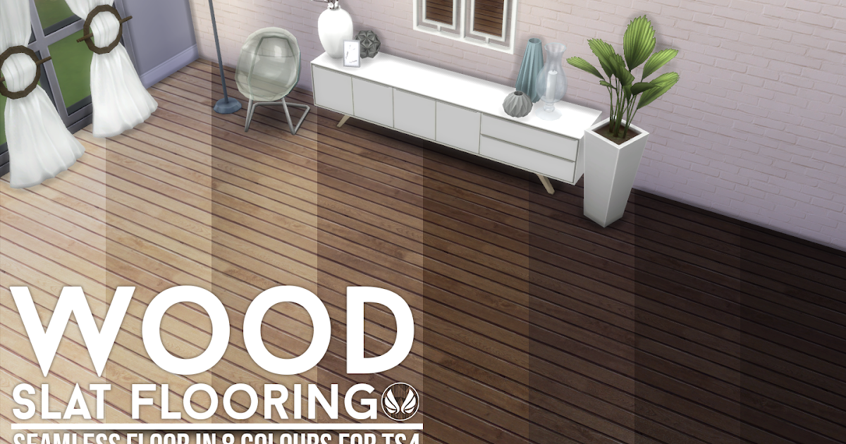 my sims 4 blog  wood slat wallpaper and floors by