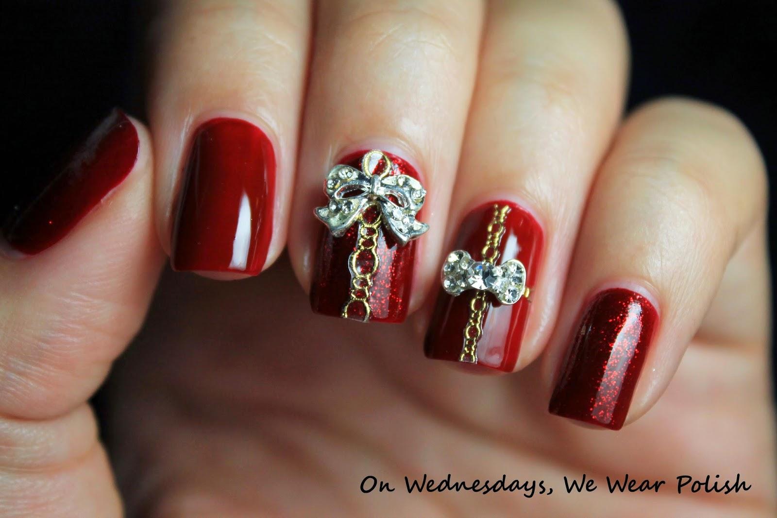 On Wednesdays, We Wear Polish : \'Tis the Season for Holiday Nail Art